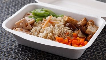 Hộp cơm tự hủy an toàn khi đựng thực phẩm, thức ăn nóng