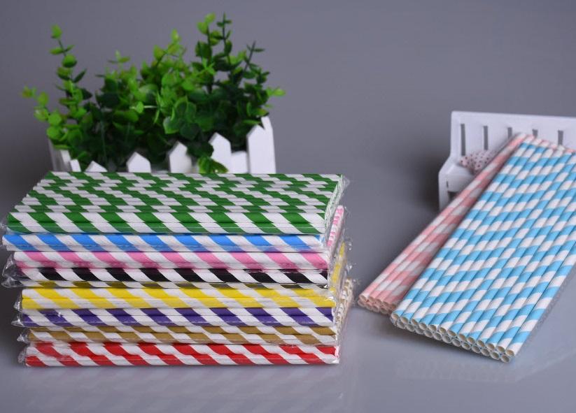 Ống hút giấy với nhiều màu sắc khác nhau phù hợp với nhiều mục đích sử dụng