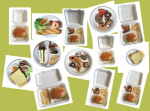 Các loại hộp bã mía đựng thực phẩm