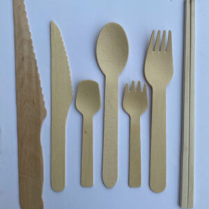 Dao, thìa, muỗm, nĩa bằng gỗ