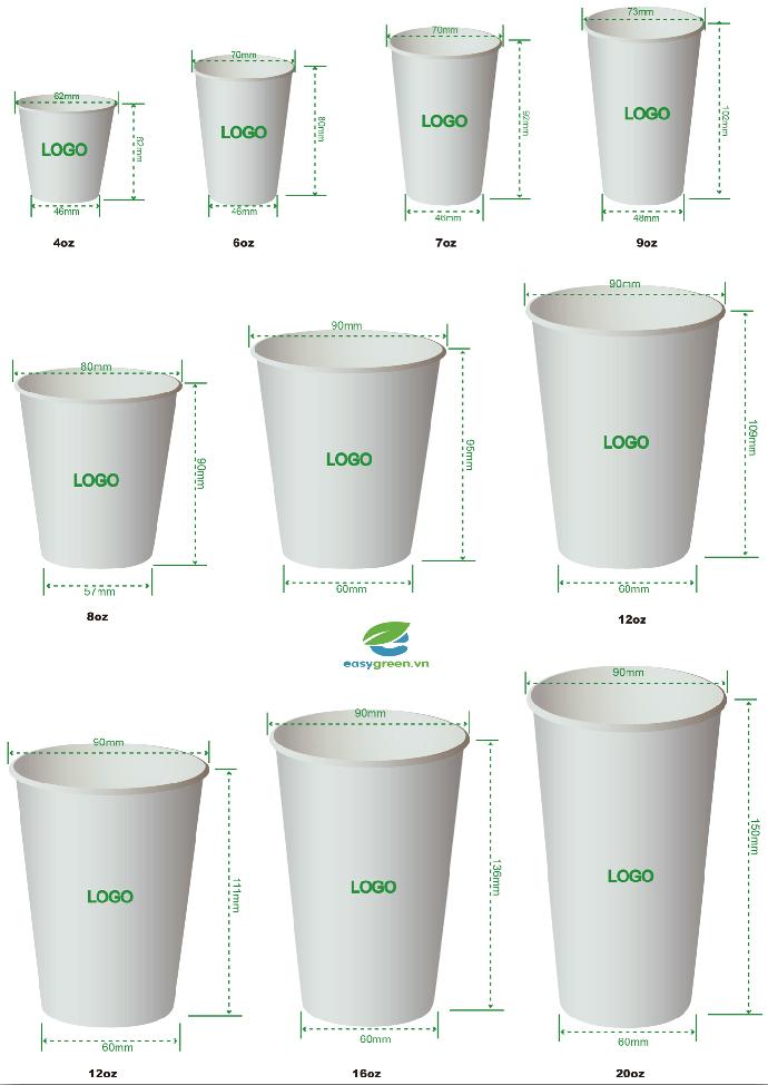 Quy trình sản xuất ly giấy, tô giấy