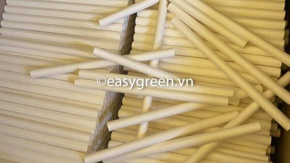 Ống hút giấy màu trắng, nhà máy sản xuất ống hút chất lượng, giá rẻ nhất thị trường